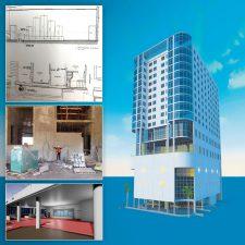 Planning began during hotel construction.